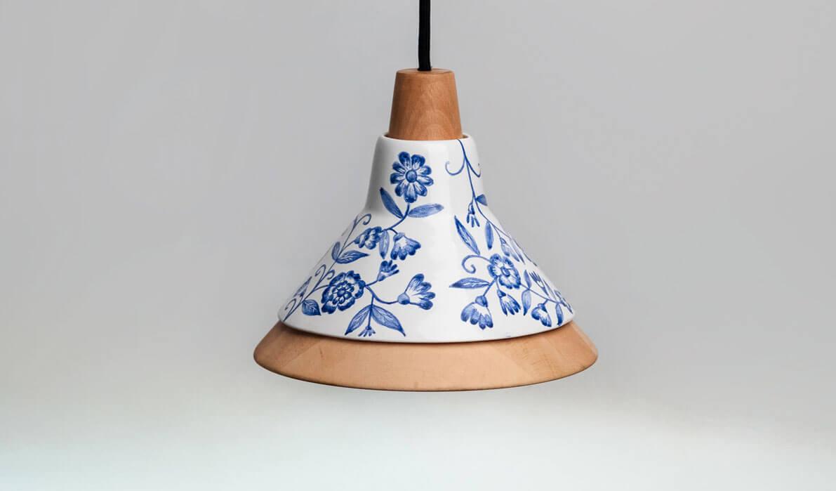 Cobalt Ceramic Pendant Light Onaemotion Com